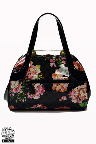 Hearts & Roses Daily Bloom Handheld Bag|Poisonkandyklothing