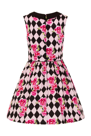 Hell Bunny - Harlequin Mini Dress|Poisonkandyklothing