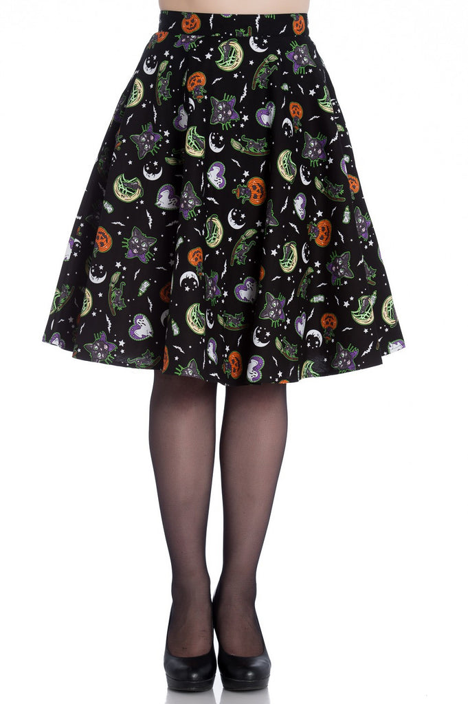 Hell Bunny Salem Skirt|poisonkandyklothing