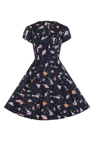 Hell Bunny Atomic Mid Dress|Poisonkandyklothing