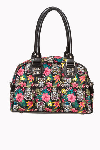 Banned Apparel - Hibiscus Handbag|Poisonkandyklothing