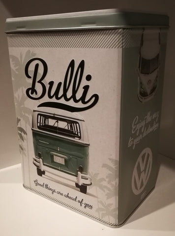 Tin Container -VW Bulli look Forward To It