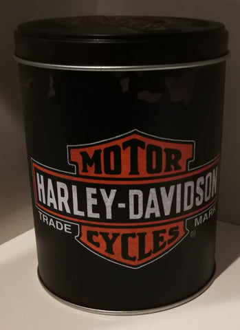 Tins Round - Harley Davidson Genuine Poison Kandy Klothing