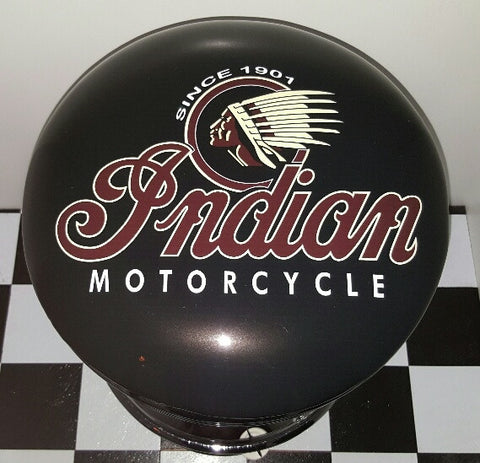 Indian Motorcycles Bar Stool Poison Kandy Klothing Australia