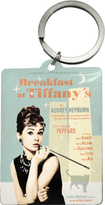 Key Ring - Breakfast at Tiffanys