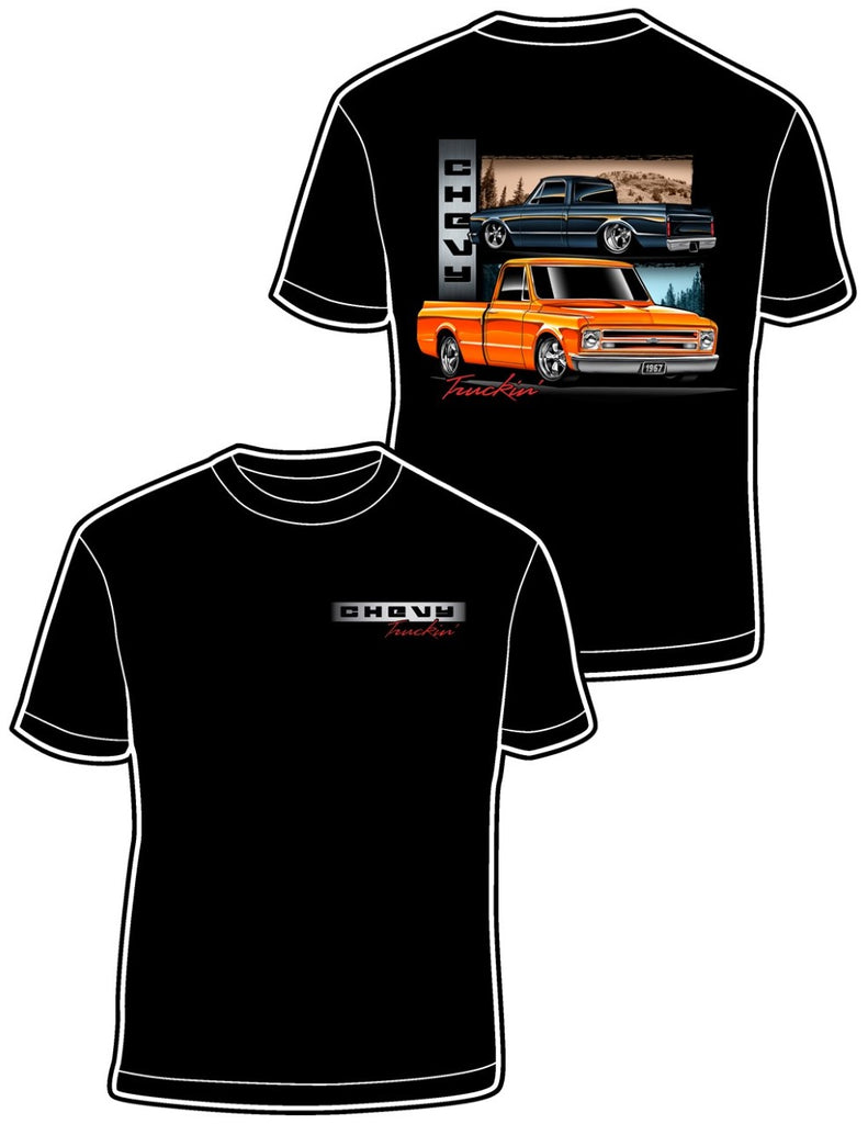Mens T-Shirt - Chevy Truckin Poison Kandy Klothing
