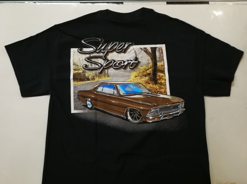 Mens T-Shirt - Chevelle Super Sport|Poison Kandy Klothing
