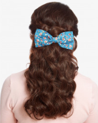 Lindy Bop Floral dog Hair Bow|Poisonkandyklothing