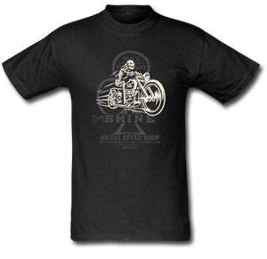 Jimmy Shine T-Shirt - Jimmy Shine Bike Tee