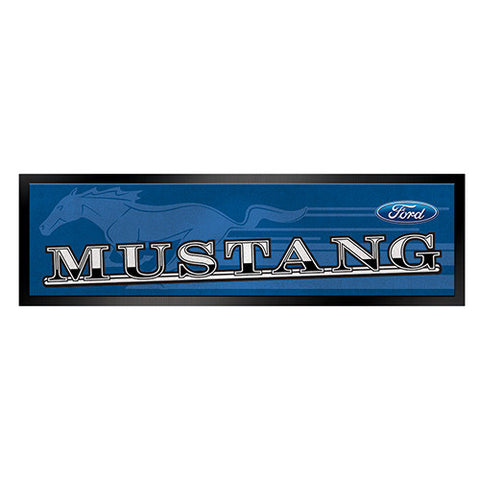 Bar Runner  Ford Mustang Rubber backed