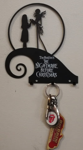 Nightmare Before Christmas - Hilltop Metal Key Hooks Poison Kandy Klothing