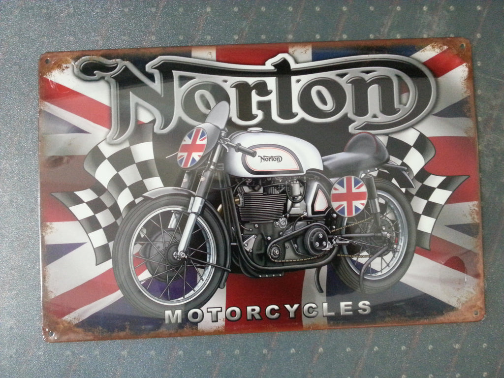 Tin Sign - Norton