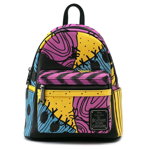 Nightmare Before Christmas Sally Print Backpack Mini|Poisonkandyklothing