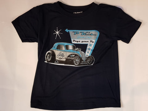 Kids T-shirt - PKK P K Speed Shop Shirt Goin Crazy