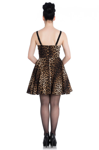 Hell Bunny - Panthera Mini Dress|Poisonkandyklothing