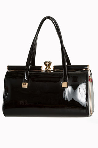 Banned Clothing Paradiso Handbag Black|Poisonkandyklothing