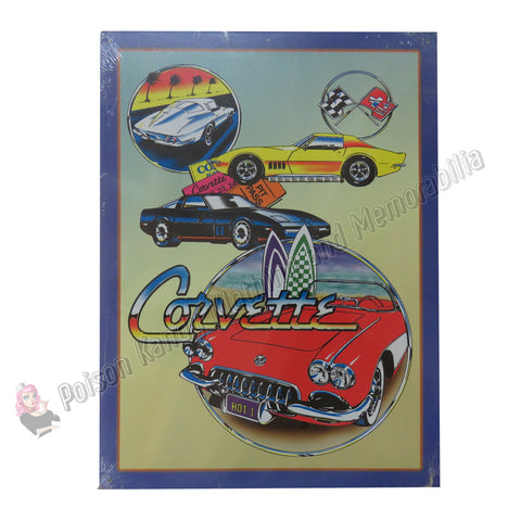 Corvette - Tin Sign