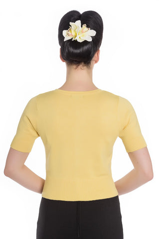 Hell Bunny - Wendi Cardigan Yellow