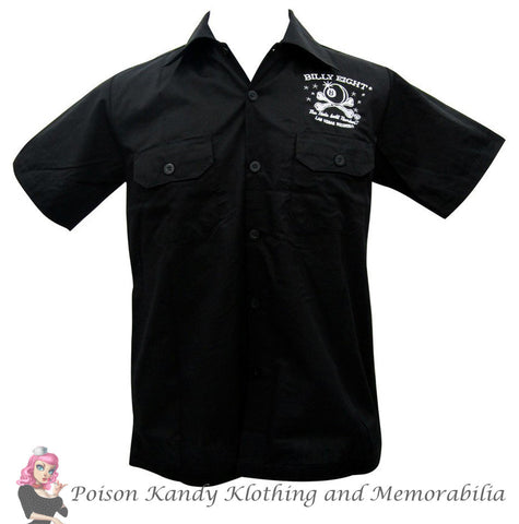 Poison Kandy Klothing Billy Eight button up Mans Ruin work shirt