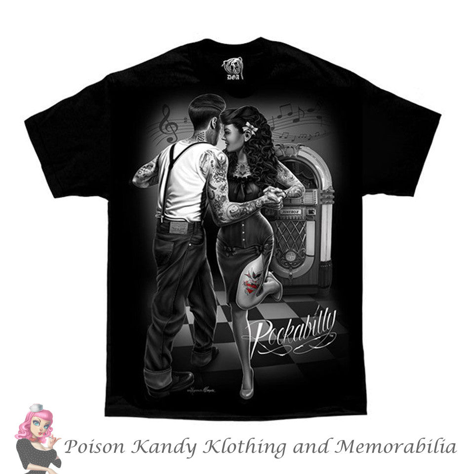 DGA Mens T shirt - Rockabilly