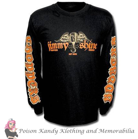 Jimmy Shine Long Sleeve T-Shirt - Tattoo Long Sleeve Tee