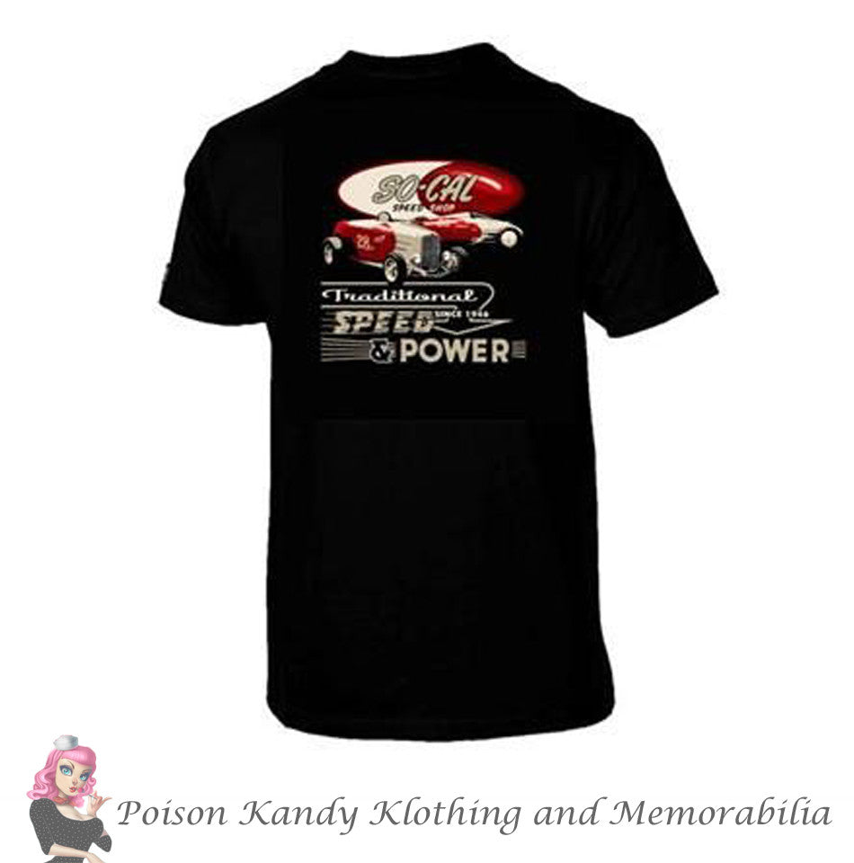 So-Cal T-Shirt, Speed Shop Traditional Speed & Power