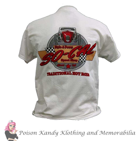 So-Cal Mens T-Shirt, SO-CAL Speed Shop Bonneville Coupe