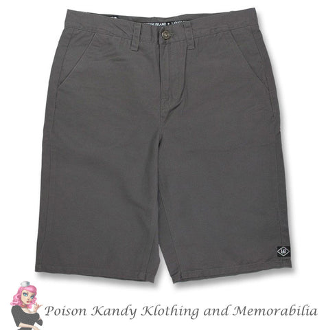 Steady Shorts - Chino Black or Charcoal