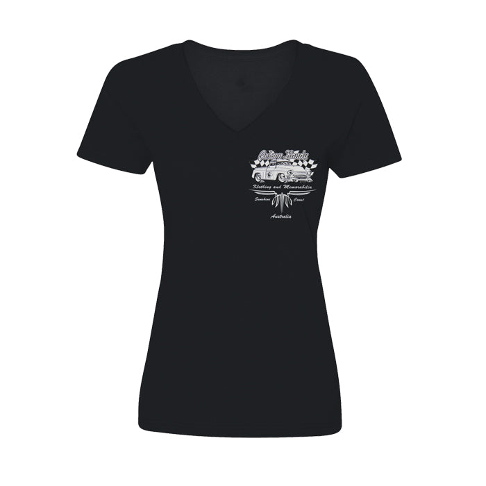 Ladies T-Shirt - Poison Kandy Klothing, Chevy pick up- Black