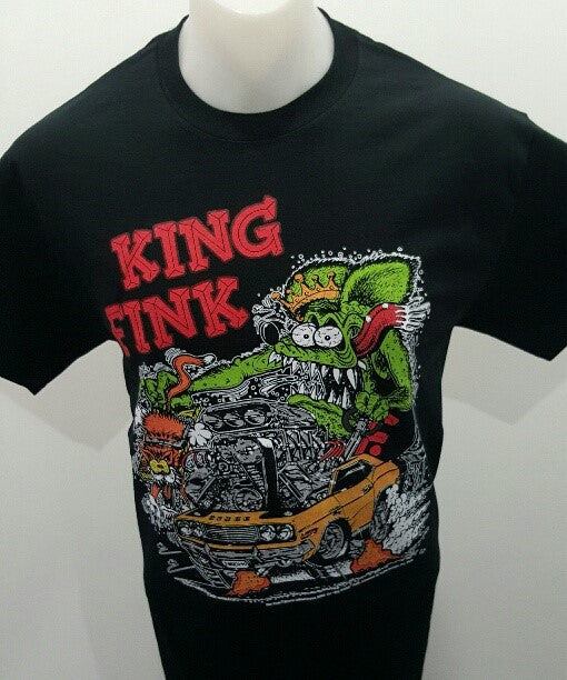 Rat Fink Men's T-shirt King Fink