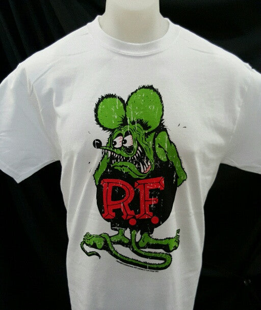 Rat Fink Men's T-shirt White