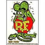 Sticker - Green Rat Fink - RO1