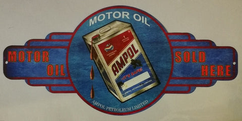 Ampol Motor Oil - Tin Sign