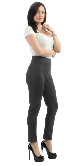 Steady Clothing - Audrey Cigarette Leggings - Charcoal