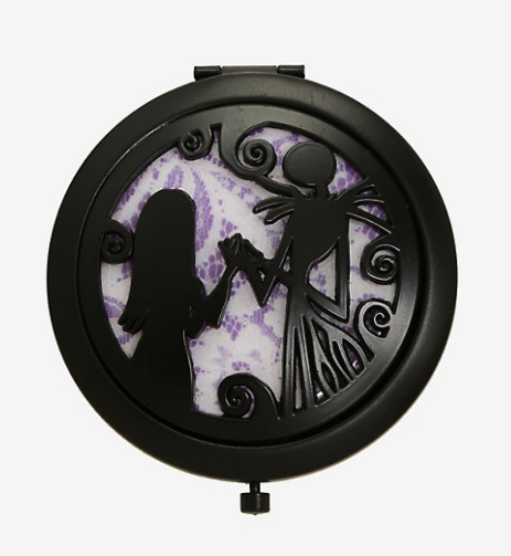 Nightmare Before Christmas Compact Mirror|Poisonkandyklothing