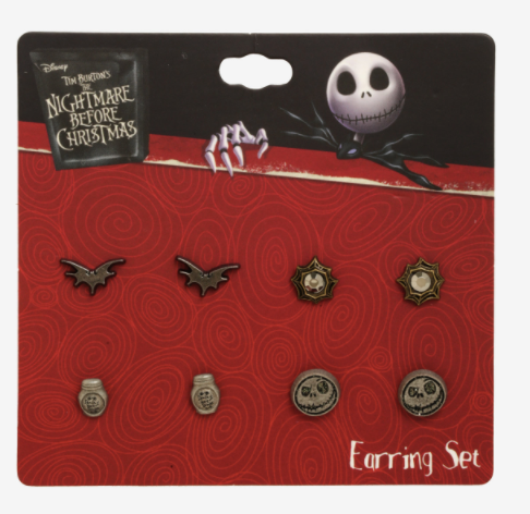 Nightmare Before Christmas Earing Set 4 assorted|Poisonkandyklothing