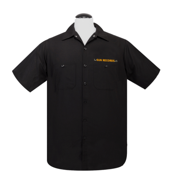 Steady Clothing - Sun Weekender Workshirt Black|Poisonkandyklothing
