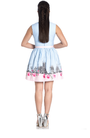 Hell Bunny - Paname Mini Dress|Poisonkandyklothing