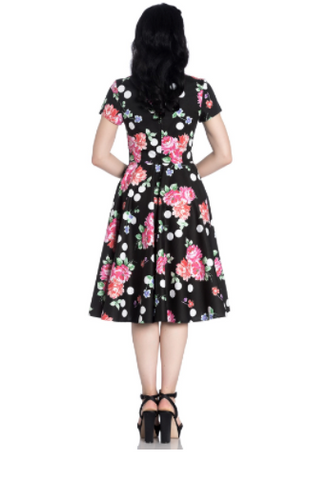 Hell Bunny Collarette 50's Dress|Poisonkandyklothing