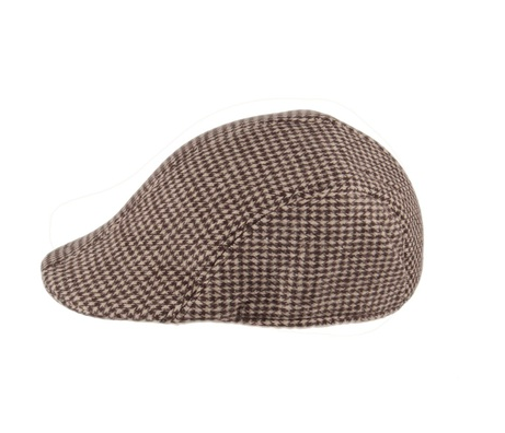 Jeff Hat - Woollen Plaid Assorted Colours