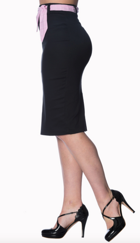 Banned Clothing - Grease Pencil Skirt Plus Size|Poisonkandyklothing