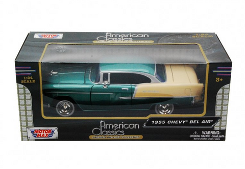Die Cast Cars - 1955 Chevy Bel Air Green|Poisonkandyklothing