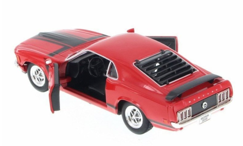 Die Cast Cars - 1970 Ford Mustang Red|Poisonkandyklothing