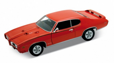 Die Cast Cars - 1969 Pontiac GTO Orange SALE ITEM