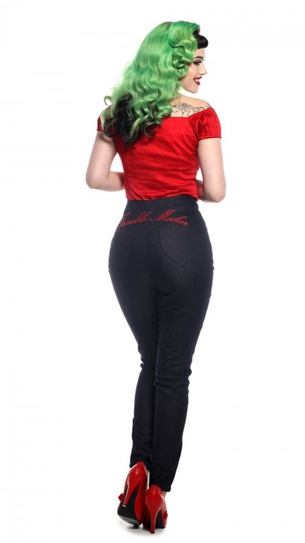 Collectif - Tara Trouble Maker Jeans