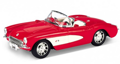 Die Cast Cars - 1957 Chevrolet Corvette|Poisonkandyklothing