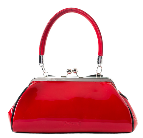 Sourpuss Jinx Floozy Handbag Red|Poisonkandyklothing