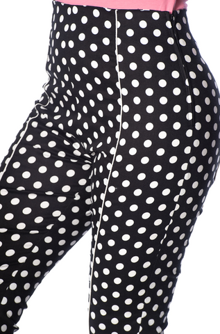 Banned Polka Dot Love Capris|Poisonkandyklothing