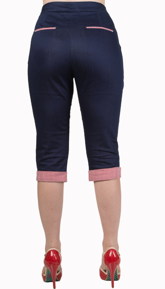 Banned Clothing - Blueberry Hills Capris