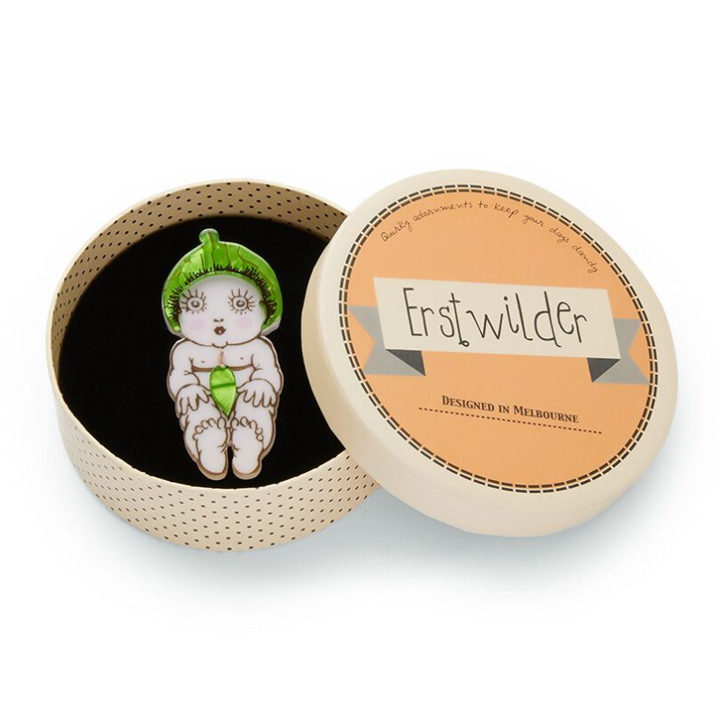 Erstwilder May Gibb Collection - Nuttybub Brooch